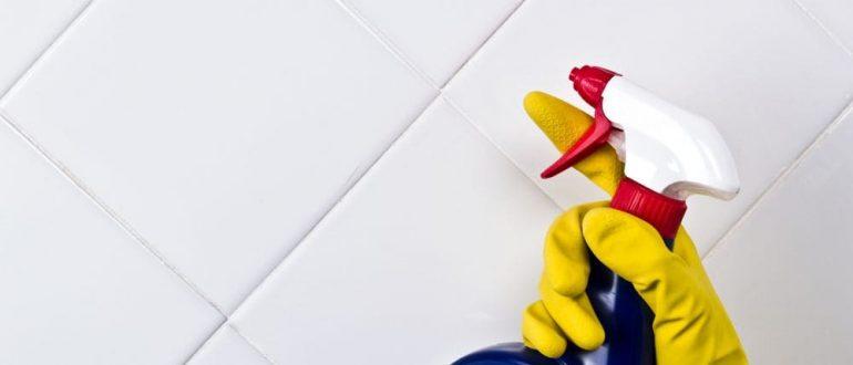 Очистить плитку от клея