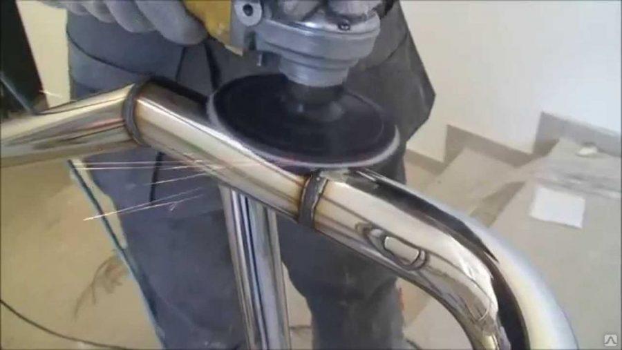 Как производится шлифовка нержавейки