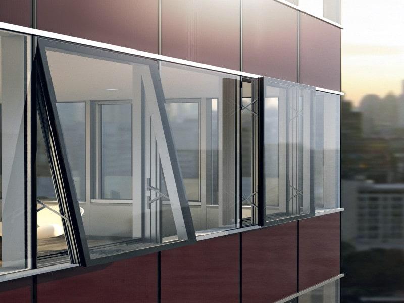 Преимущества алюминиевых оконных конструкций