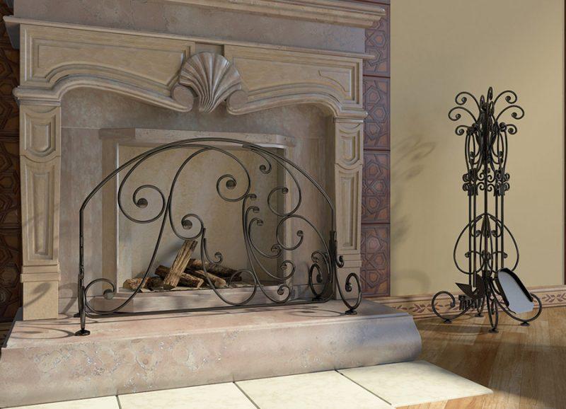 Хорошие кованые изделия для декора интерьера