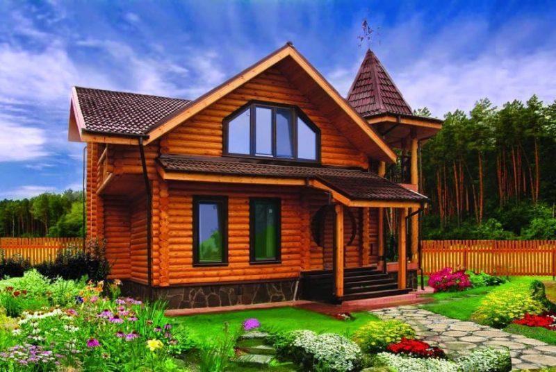 Чем хорош деревянный дом