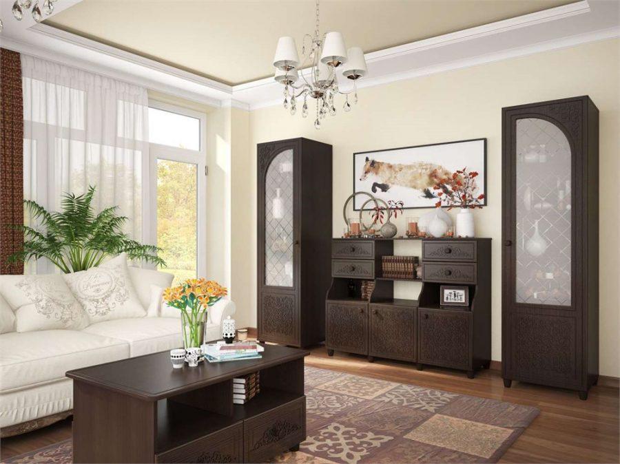 Подбираем мебель для гостиной комнаты