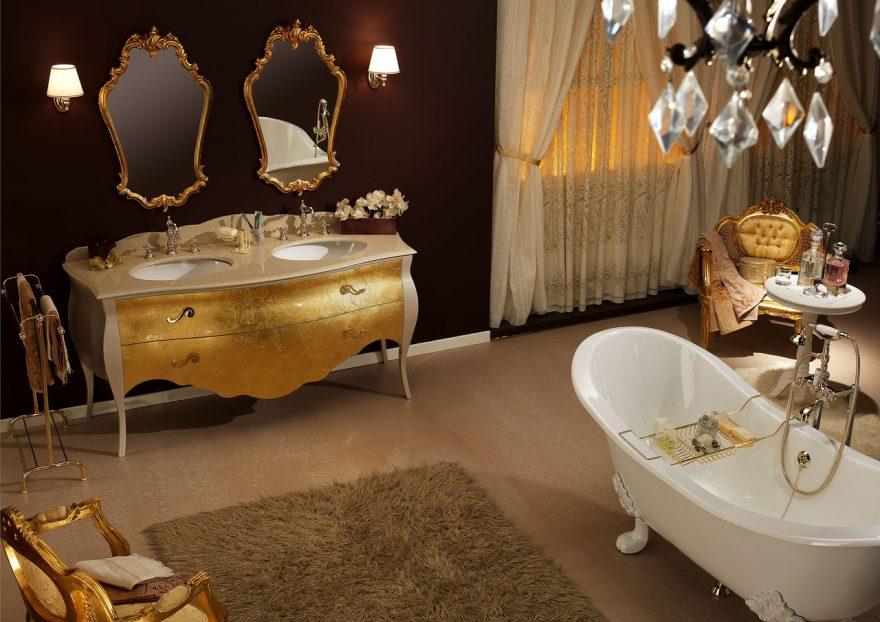 Современная элитная сантехника для ванной