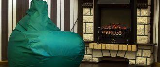 Кресло-груша в интерьере