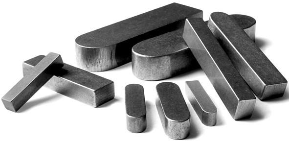 Стальная шпонка – удобный материал для соединения элементов