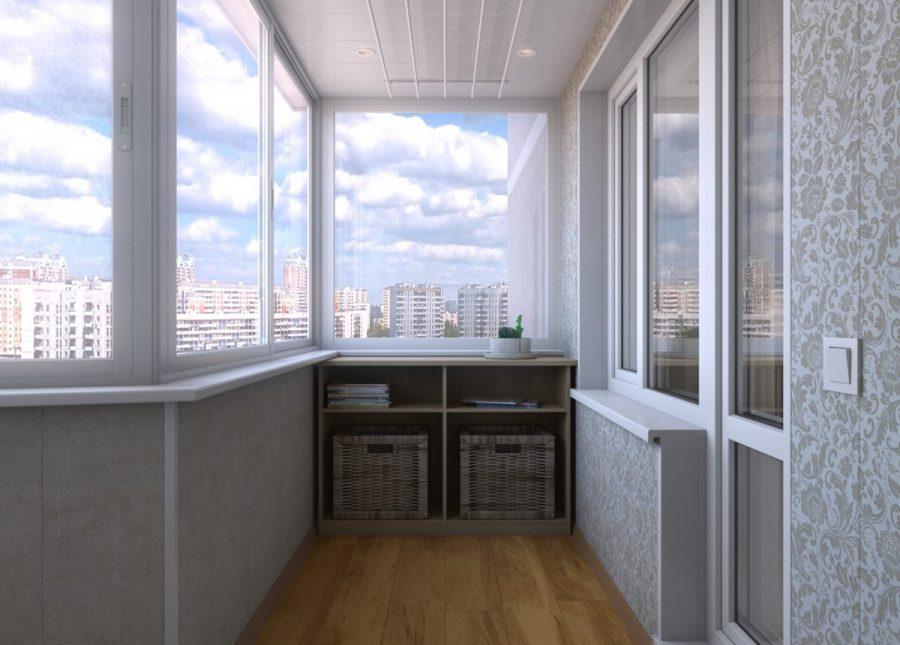 Варианты остекления балконов и лоджий