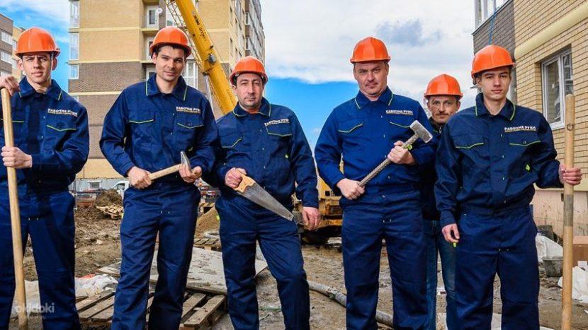 Выбор бригады рабочих для строительства
