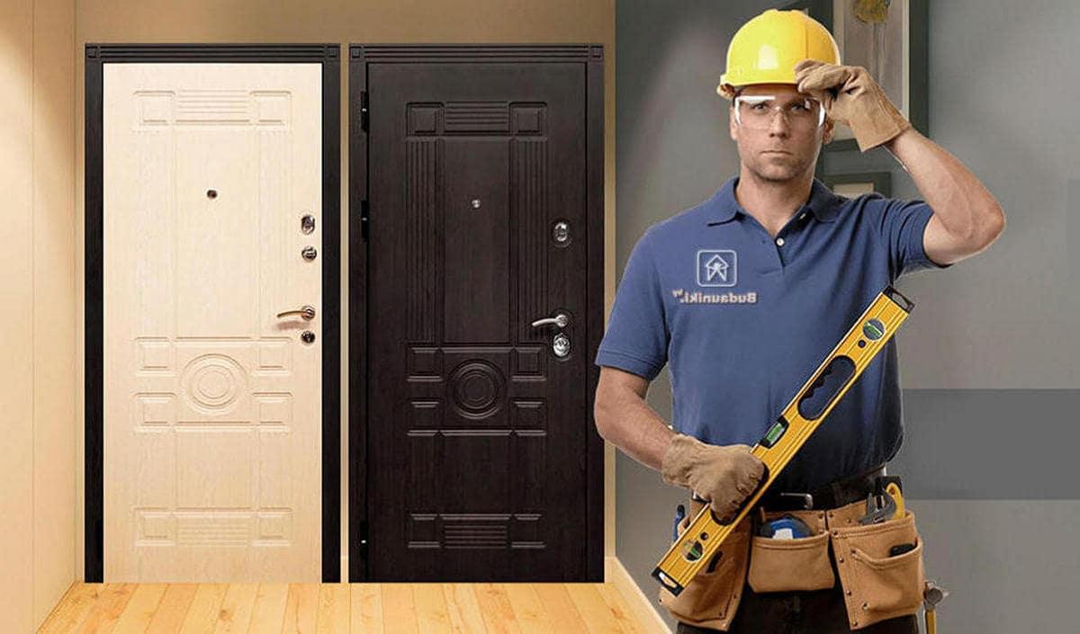 Надежная защита: металлические двери
