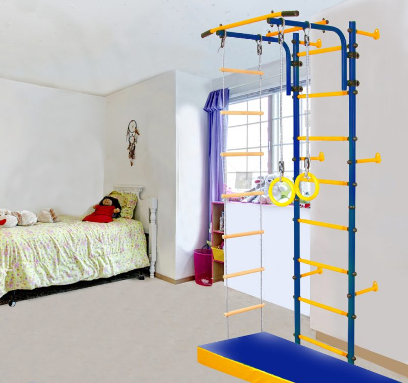 Тонкости выбора детского спортивного комплекса для дома