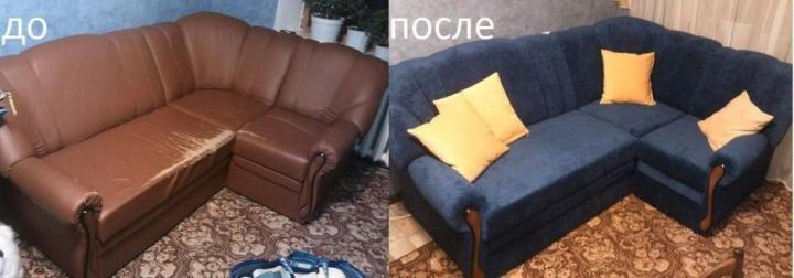 Перетяжка мягкой мебели – вторая жизнь вашего любимого дивана