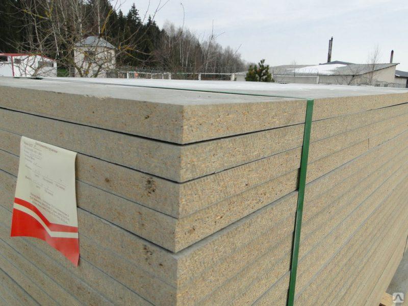 Монолитные плиты из цементно-стружечного материала - Плиты Тамак