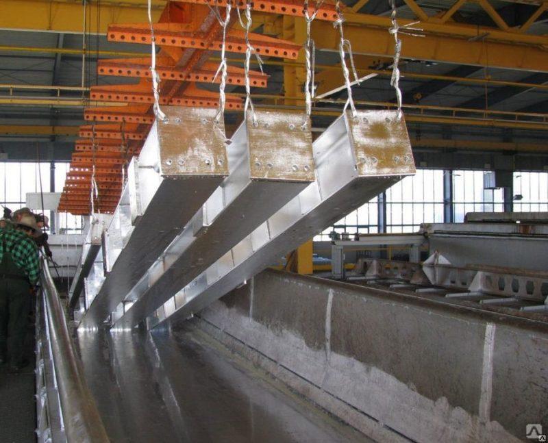 Немного о цинковании металлоконструкций