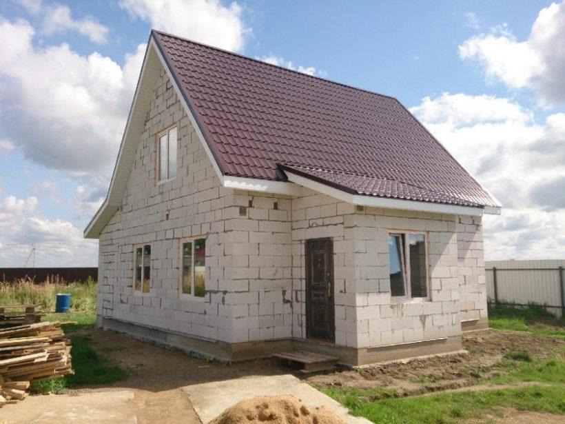Как построить дом из блоков?
