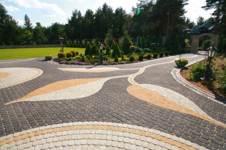 Тротуарная плитка и ее достоинства
