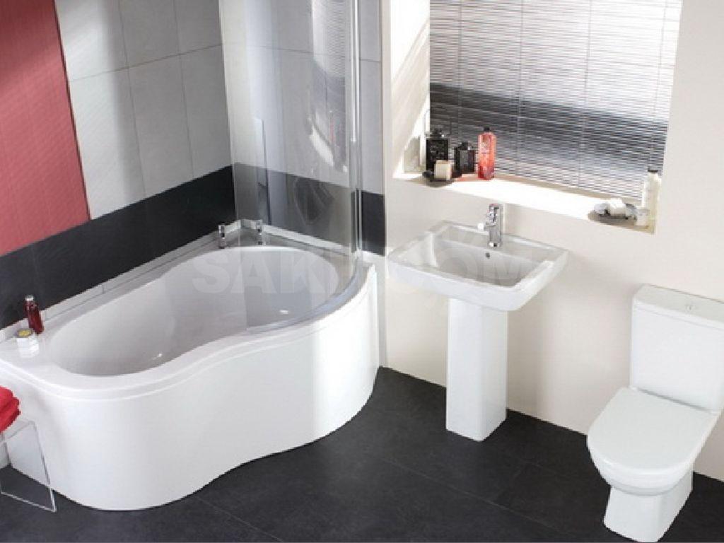 Обустройство ванной комнаты сантехникой