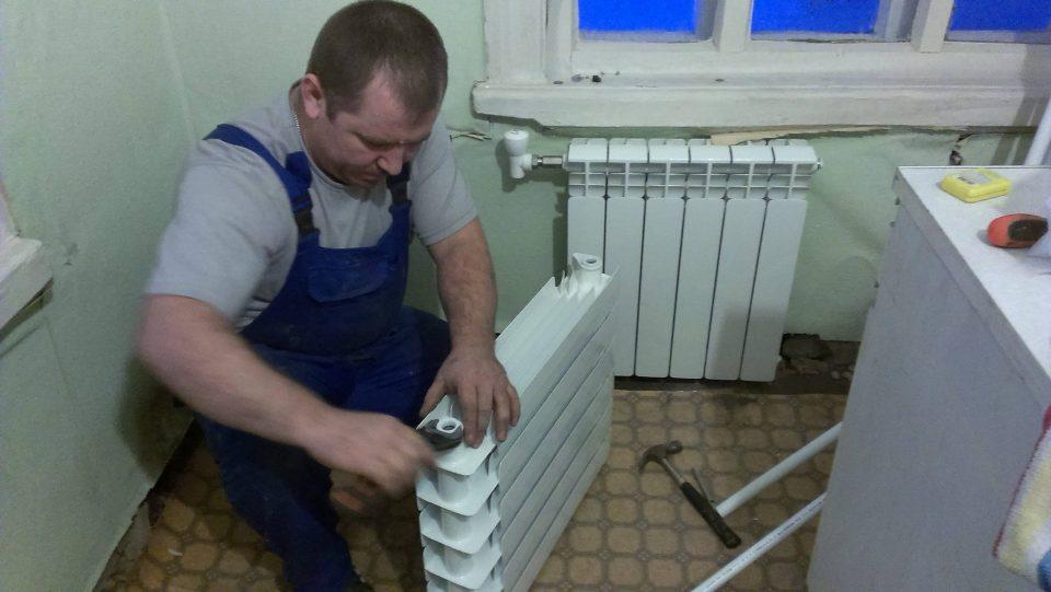 Этапы замены радиаторов отопления