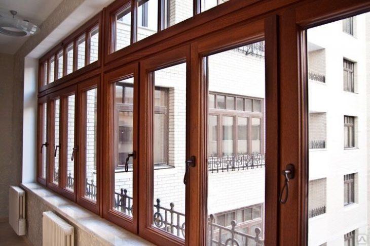 Дерево-алюминиевые окна и их преимущества