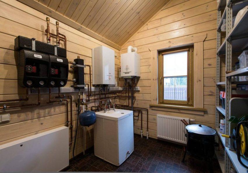 Выбор отопительной системы для деревянного дома