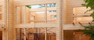 Как построить дом из профилированного бруса?