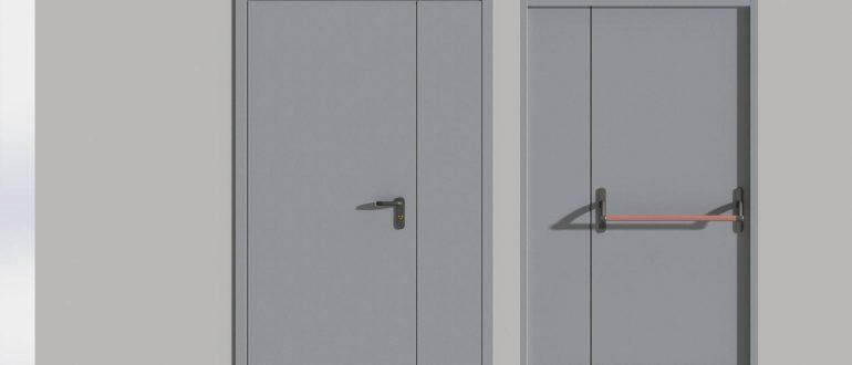 Что собой представляют противопожарные двери