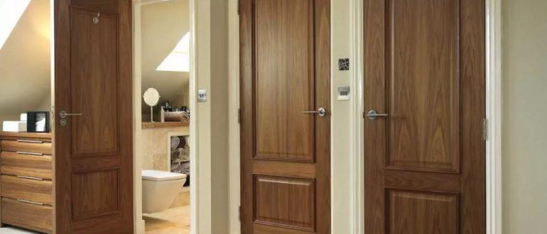 Межкомнатные двери – учимся подбирать цвет