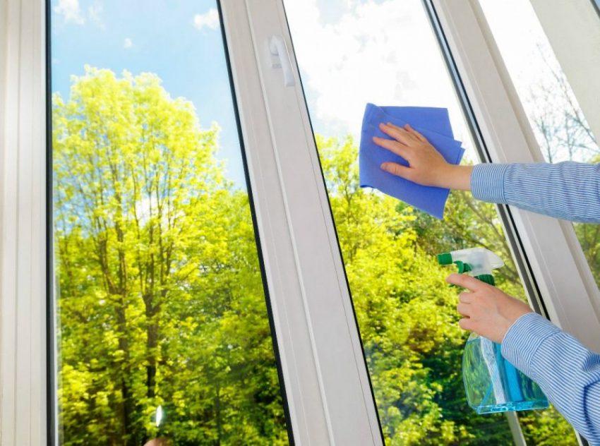 Ухаживаем за пластиковыми окнами
