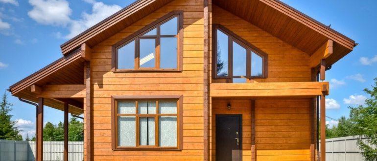 Преимущества домов из клееного бруса