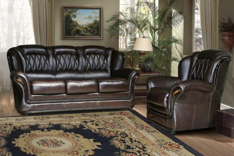 Кожаные диваны и кресла – это престижно