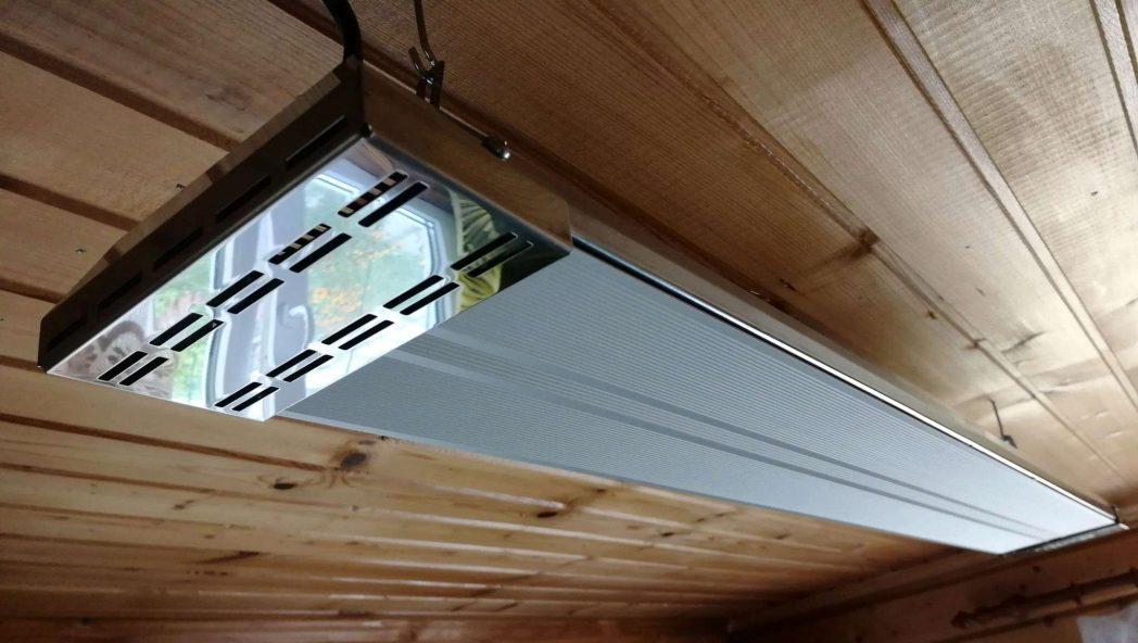 Использование потолочных обогревателей