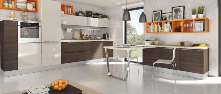 Новые направления в современных кухонных гарнитурах