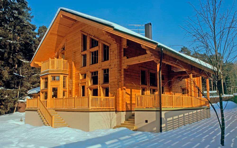 Мы строим деревянный дом!