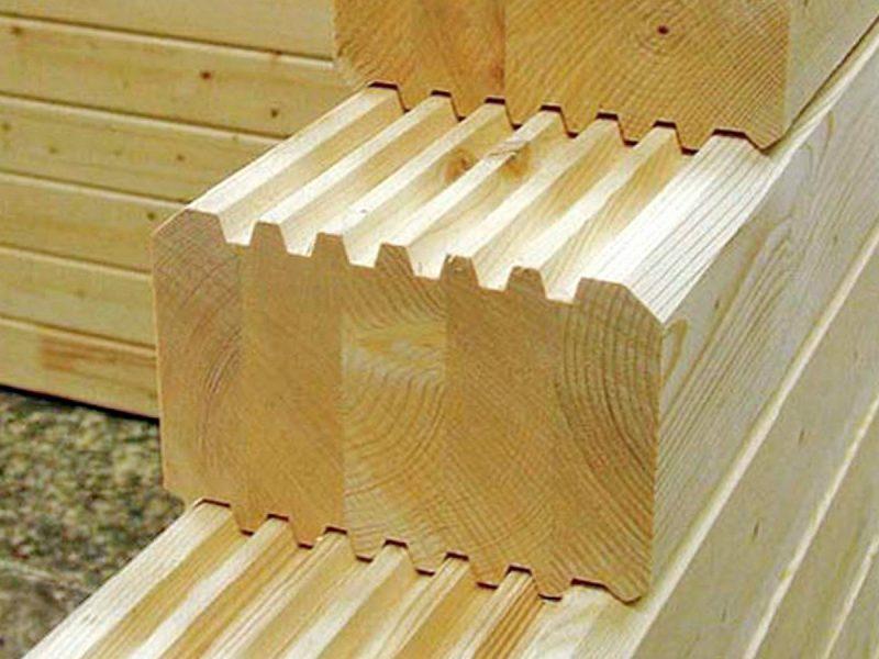 Профилированный брус – современный строительный материал