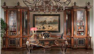 luxury-furniture-exquisite-empire-style-executive-desk