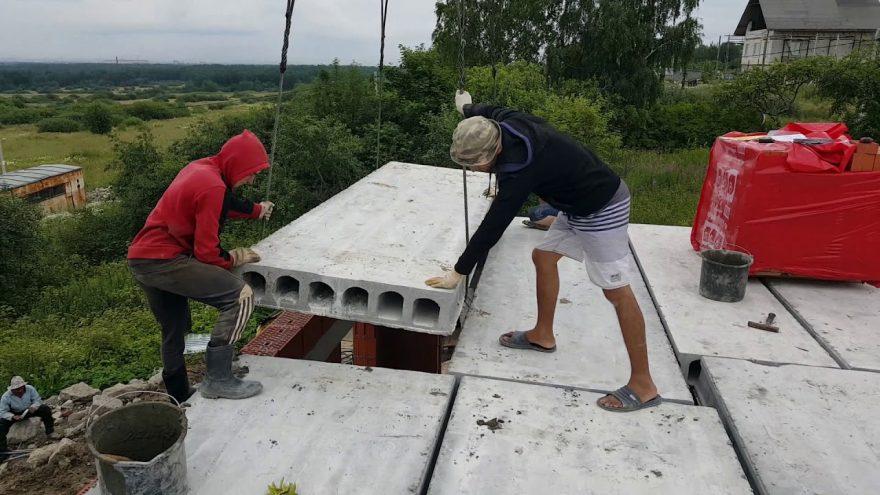 Необходимость в строительстве железобетонных плит