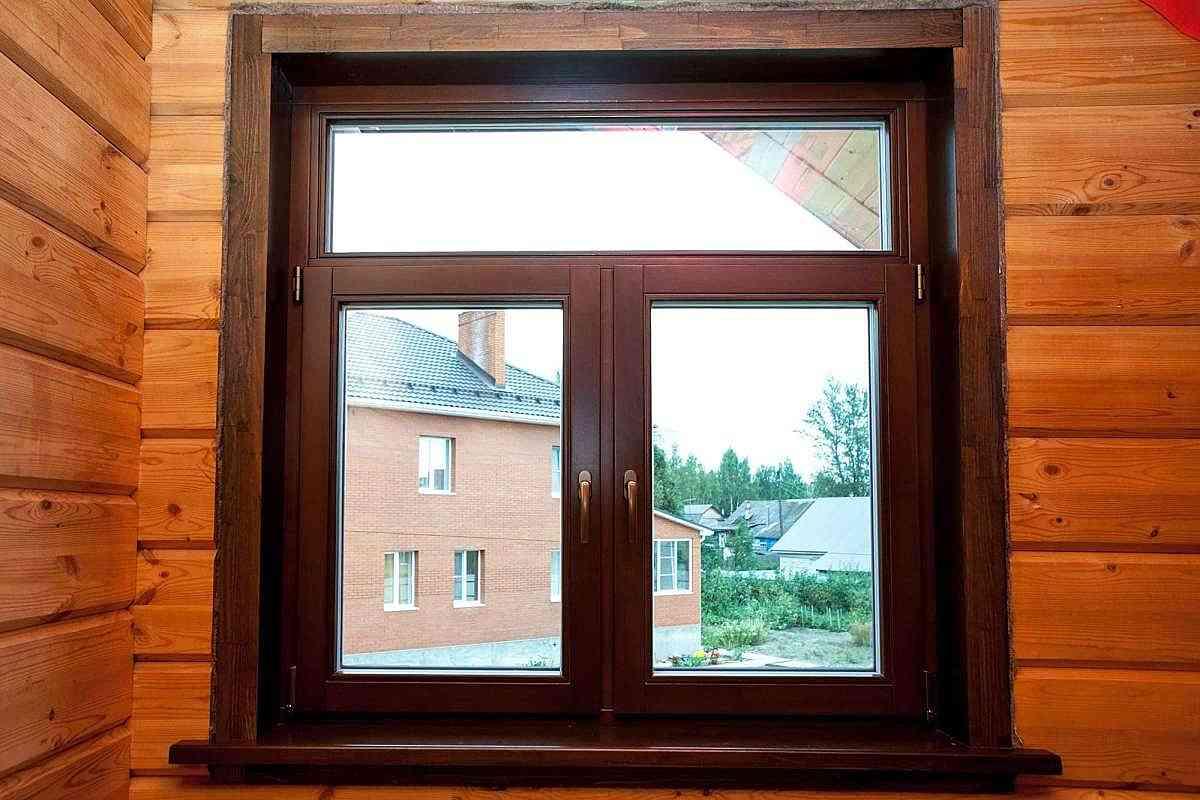 Преимущества деревянных окон со стеклопакетами