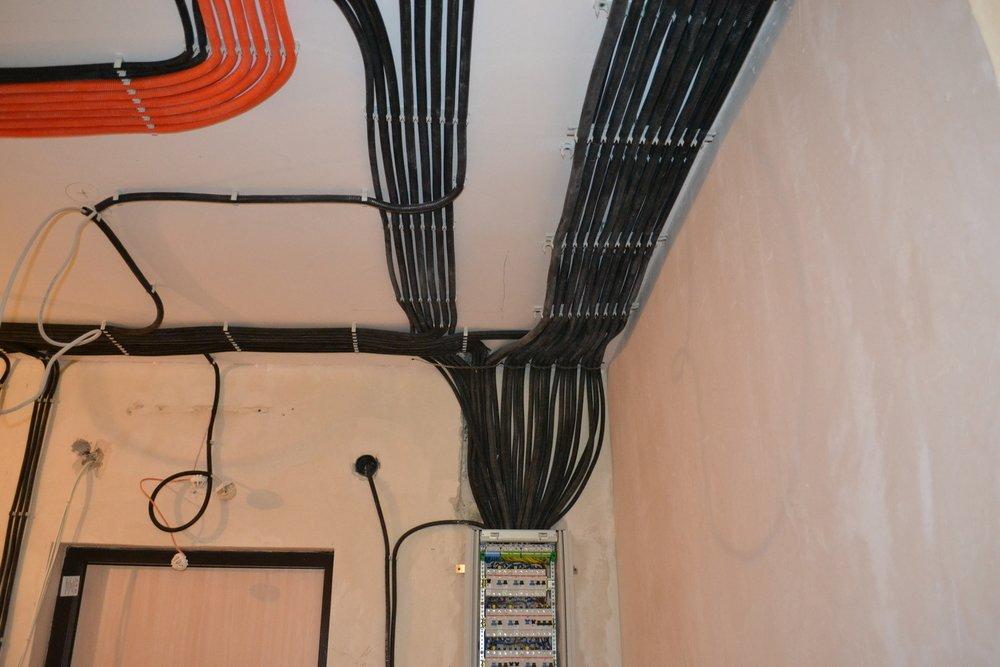 Правильная прокладка электропроводки