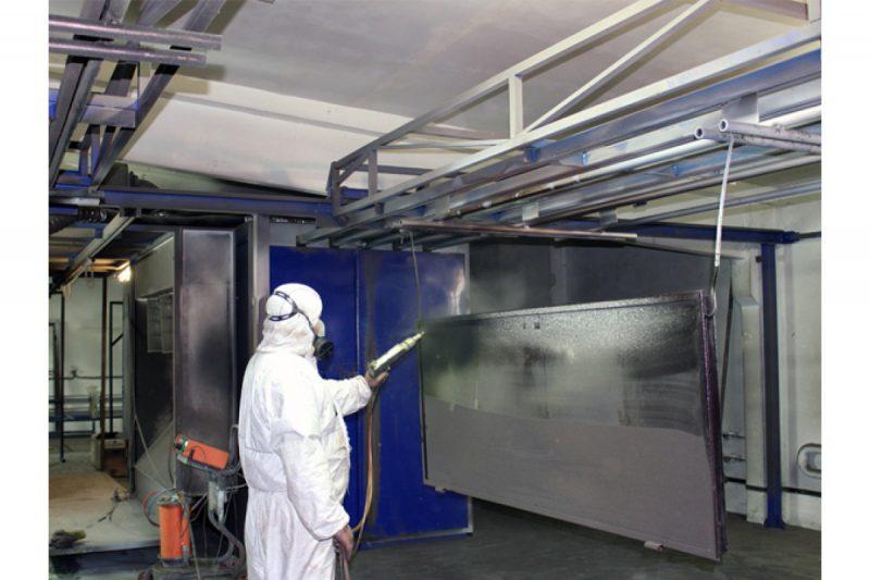 Как красить конструкции из металла