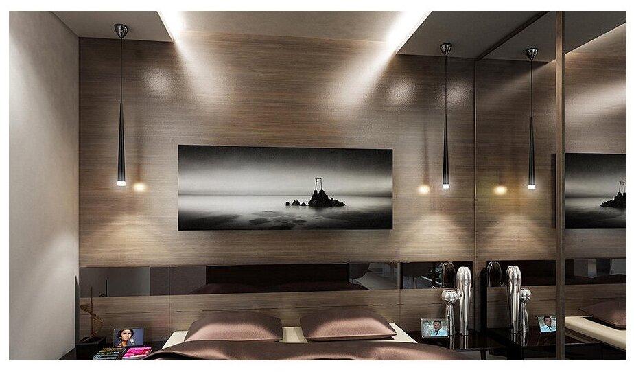 Светильники в интерьере мебели