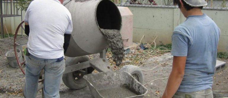 Возможные способы приготовления монолитного бетона