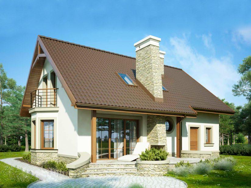 Одноэтажные дома: строим с мансардой или без нее?