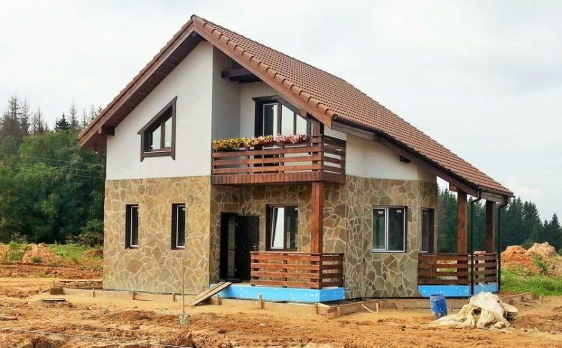 Строим дом за городом