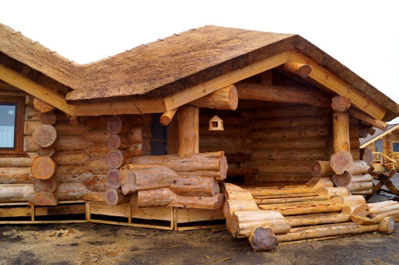 Что собой представляет дом ручной рубки?