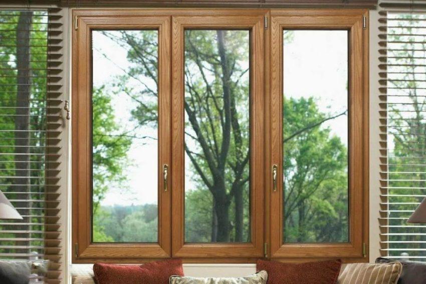 Качественные окна из дерева