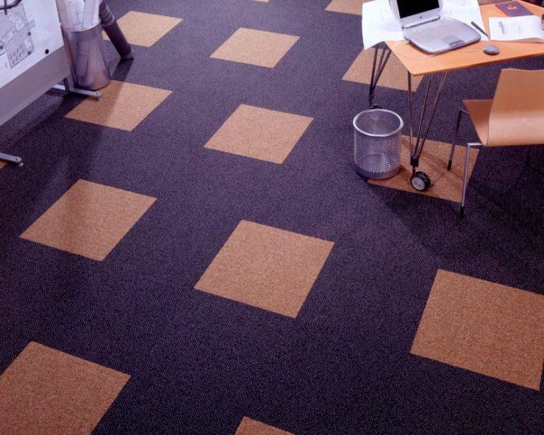 Преимущества ковровой плитки