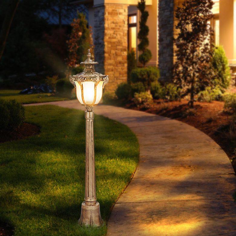 Положительные качества уличных светильников