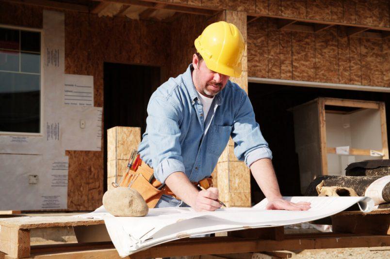 В процессе выполнения строительных работ