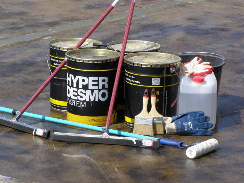 Основные характеристики гидроизоляционной мастики гипердесмо
