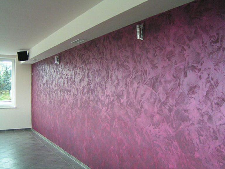 Выбор фактурного покрытия для стен