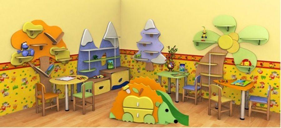 Какая мебель должна быть в детском саду?