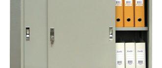 Какие металлические шкафы лучше всего подобрать?